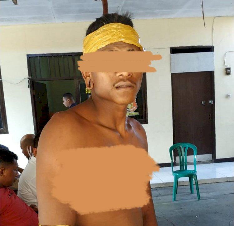 Polres Sikka Tangkap Napi Asimilasi Pelaku Pencurian Di Desa Ribang