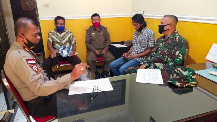 Kabag Ops Polres Sikka Pimpin Rapat Koordinasi Pengamanan Hari Raya Idul Adha 1441 H