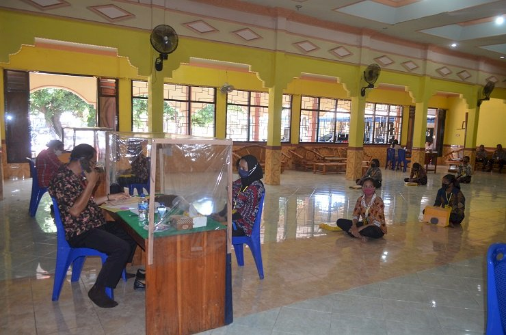 Bag Sumda Polres Sikka Laksanakan Rikmin Awal Calon Siswa Bintara Polri