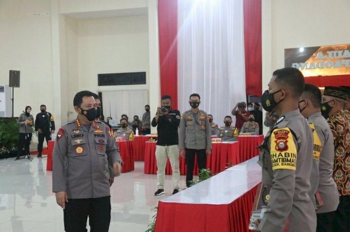 Kapolri Beri Reward Dua Anggota Polda Sulsel Sekolah Inspektur Polisi