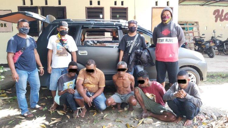 Sat Reskrim Polres Sikka Berhasil Tangkap Pelaku Pencurian Spesialis Kios Di Kab. Sikka