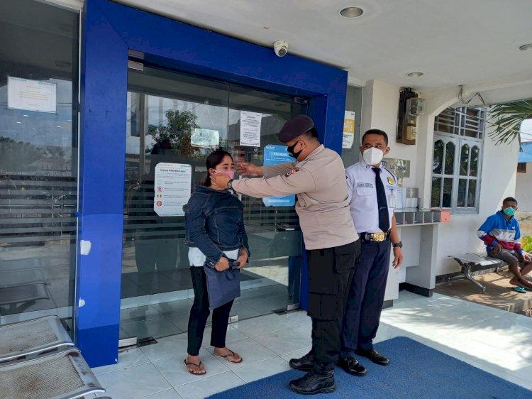 Personil Polsek Paga Sambangi Masyarakat Tegakan Disiplin Dalam Penerapan Prokes