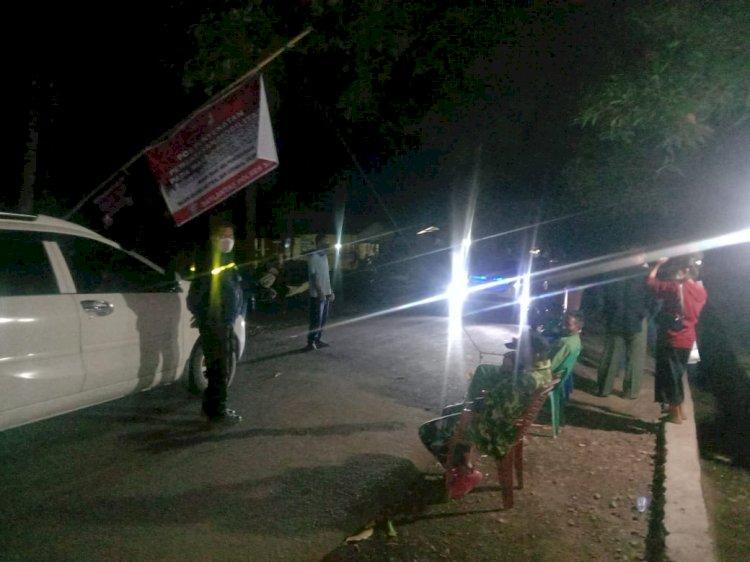 PPKM Diperpanjang, Polres Sikka Tetap Berlakukan Pemeriksaan Kendaraan di Posko Penyekatan
