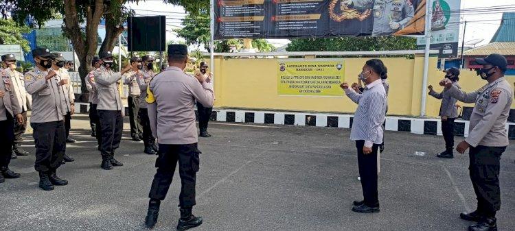 Polres Sikka Gelar Latpraops Bina Waspada Ranakah 2021