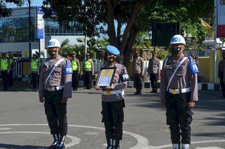 Pimpin Upacara PTDH, Kapolres Sikka Harapkan Tidak Ada Lagi Upacara PTDH Di Polres Sikka