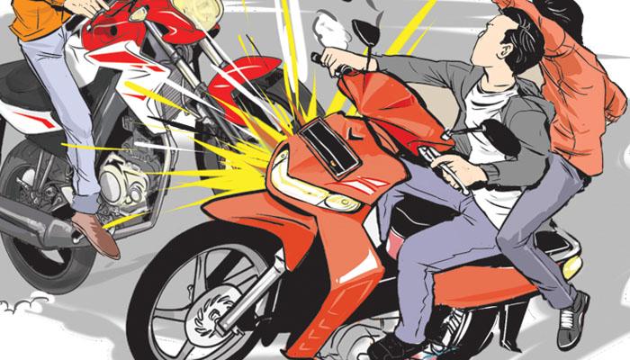 LAGI, KECELAKAAN MOTOR vs MOTOR KEMBALI TERJADI