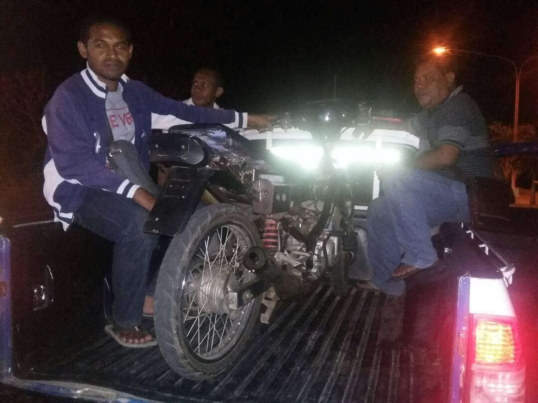 Operasi Pekat 2017, Polres Sikka Berhasil Jaring Motor Berknalpot Racing